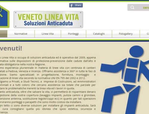 Realizzazione sito internet a Padova – Veneto Linea Vita