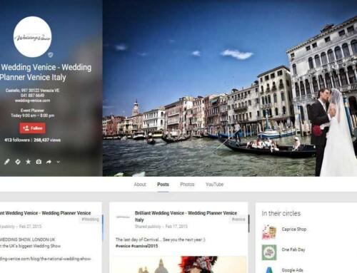 Realizzazione Pagina Google+ a Venezia – Brilliant Wedding