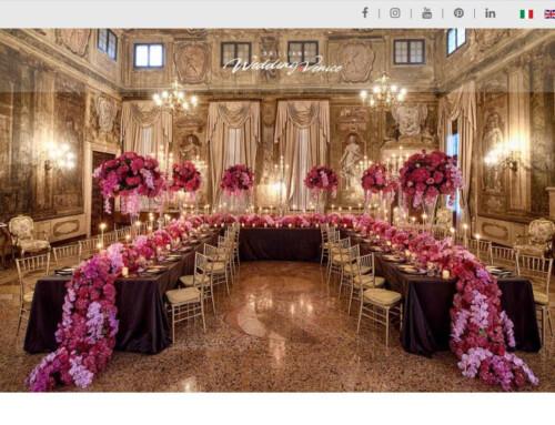 Realizzazione sito internet a Venezia – Brilliant Wedding Venice