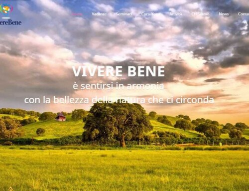 Realizzazione sito web a Padova – Vivere Bene Academy