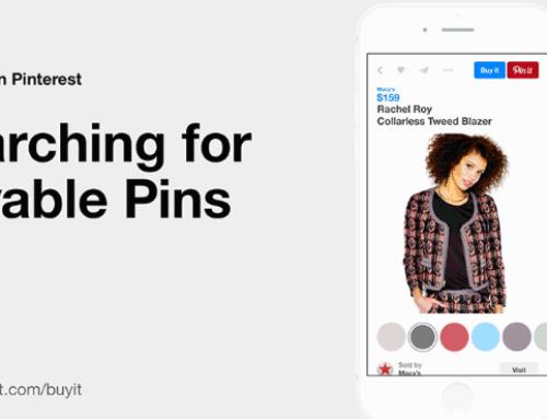 Acquisti in rete, i buyable pins di Pinterest